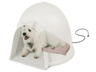 K&H Lectro-Soft Igloo Style Heated Dog Bed & Cover