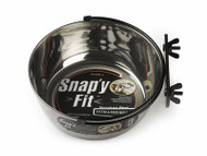 MidWest Snapy Fit Stainless Steel Dog Create Bowl