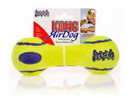 Kong AirDog Dumbbell Squeaker Tennis Toy