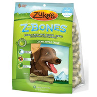 Zuke's Z-Bones Grain-Free Dental Chews for Dogs-Clean Apple Crisp