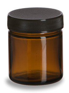 Amber Glass Salve Jar 50 Ml Specialty Bottle