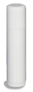 1/2 oz Lip Balm Round Tube with Cap - TUBE5