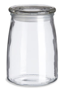 Heavy Glass Candle Jar With Lid 20oz Specialty Bottle