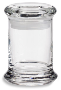 Mini Elite Glass Candle Jar W Lid 3 Oz Specialty Bottle
