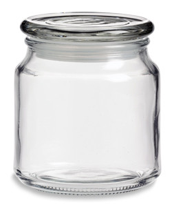 Large Candle Jar With Glass Lid 16 Oz Specialty Bottle