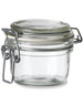 4.25 oz Bale Round Glass Jar with Swing Top Lid