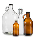 Beverage Bottles, Growlers, Jugs