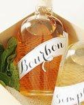 DIY mint julip bourbon and honey