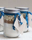 DIY cupcake in a jar