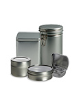 Tin Containers, Window Tins, Tea Tins, Mint Tins