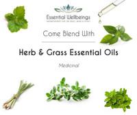 Herb & Grass Essential Oil Blending Class - Medicinal