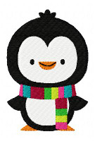 Cheery Penguin Winter