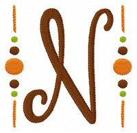 Fall Monogram Set