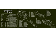 "TEKMAT AR-15 12""x36"" GUN CLEANING MAT (OLIVE DRAB GREEN)"