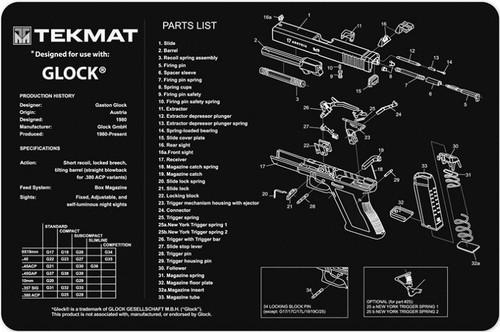 Tekmat Glock 11 Quot X17 Quot Gun Cleaning Mat Dd S Ranch