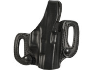 BLACKHAWK! LEATHER HOLSTER DETACHABLE SLIDE GLOCK 9mm/.40cal