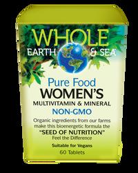 Whole Earth & Sea Women's Multivitamin & Mineral (60 tabs)