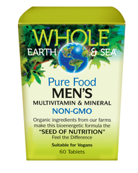 Whole Earth & Sea Men's Multivitamin & Mineral (60 tabs)