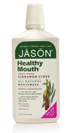 Jason Healthy Mouthwash Tartar Control Cinnamon Clove (473 mL)