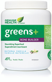 Genuine Health Greens+ Bone Builder Vanilla (491 g)