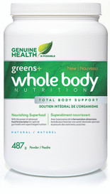Genuine Health Greens+ Whole Body Nutrition Natural (487 g)