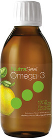 Ascenta NutraSea Omega-3 Oil Lemon (200 mL)