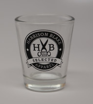 Harrison Blake SELECTED Shot Glass