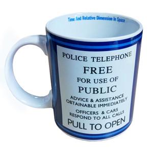doctor who tardis 11oz coffee mug - Doctor Who License Plate Frame