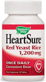 HeartSure Red Yeast Rice 1200 mg 60 Tabs Nature's Way