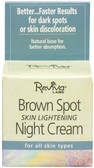 Brown Spot Night Cream 1 oz Reviva, Dark Spots