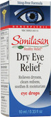 Eye Drops #1 Dry Eyes 0.33 oz, Similasan, Clears Redness