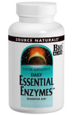 Essential Enzymes 500 mg 120 Caps Source Naturals, Digestion