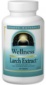 Source Naturals Wellness Larch Extract 60 Tabs, Immune