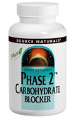 Phase 2 Carbohydrate Blocker 500mg 120 Wafers, Source Naturals