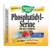Phosphatidyl Serine 60 Softgels Nature's Way, Brain Health