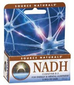 NADH 5mg box (blister pack) 90 tab, Source Naturals
