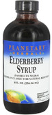 Elderberry Syrup, 8 fl oz, Planetary Herbals