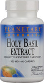 Holy Basil Extract 450 mg 60 Caps, Planetary Herbals