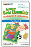 Gummy Bear Essential Vitamins 30 Packets, Rainbow Light