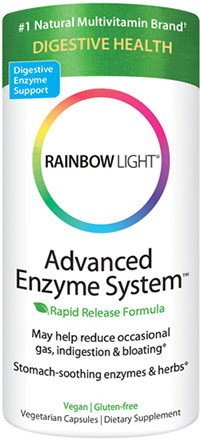 advanced enzyme system 120 caps rainbow light eases. Black Bedroom Furniture Sets. Home Design Ideas