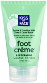 Foot Creme Peppermint 4 oz, Kiss My Face, Soothes