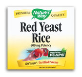 Red Yeast Rice, 120 vCaps, Nature's Way, Cardiovascular