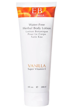 Herbal Body Lotion Vanilla 8.5 oz Ecco Bella, Hydrates and Revives. New Look!