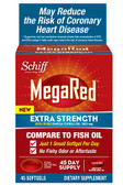 Schiff MegaRed Extra Strength Omega-3 500 mg Krill Oil 45 Softgels