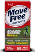 Schiff Move Free Advanced plus MSM 120 Tabs Joints, Cartilage