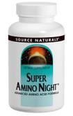 Super Amino Night 240 Tabs, Source Naturals