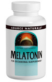 Melatonin 2.5 mg  Sublingual Peppermint 240 Tabs, Source Naturals