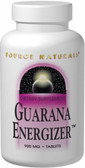 Guarana Energizer 900 mg 200 Tabs Source Naturals, Energy