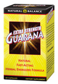 Extra Strength Guarana 60 ct Natural Balance, Energy