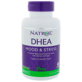 DHEA 25 mg 300 Tablets, Natrol, Antioxidant